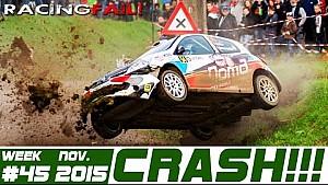 Racing and Rally Crash Compilation Week 45 November 2015