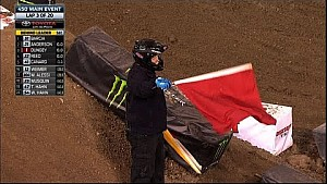 Ryan Dungey Takes Out James Stewart - 2016 Monster Energy Supercross