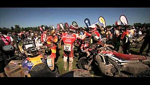 Team HRC Dakar Rally 2016 stage 13