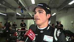 Pedro Piquet wins New Zealand Motor Cup and dad is there to photobomb