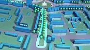 Il tracciato 3D dell'ePrix di Berlino