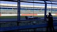 Первый круг Mercedes W07 в Сильверстоуне