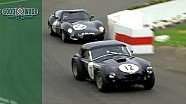 MIGHTY BATTLE: Unique Lister-Jag v 450bhp Shelby Cobra