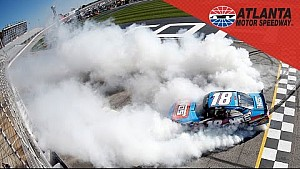 Recap: Busch holds off Larson for NXS victory