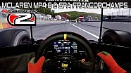 За рулем McLaren MP4-6 в игре rFactor 2