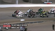 Highlights: World of Outlaws Craftsman Sprint Cars The Dirt Track at Las Vegas March 3rd, 2016