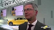 Salone di Ginevra 2016, intervista a Rupert Stadler