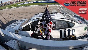 Kes makes late-race pass for victory in Vegas