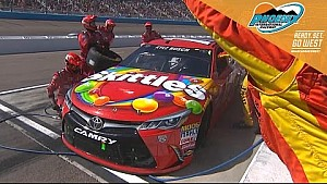 Busch frustrated after costly pit stop