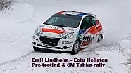 Emil Lindholm - Eetu Hellsten SM Tahko-rally 2016