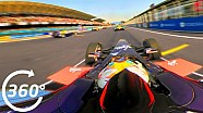 360° Video: Mexico City Onboard Race Start - Formula E