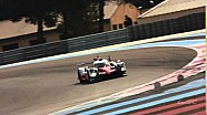 The new Toyota TS050 at its first WEC action from The Prologue 2016