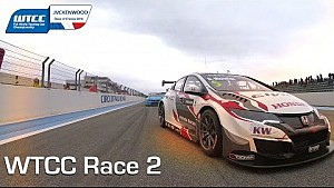 WTCC France, Race 2 highlights Tom Coronel from P4, 2016