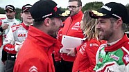 ALL ACCESS - What Language are Pechito and Monteiro using on the podium?