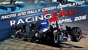 Racing and Rally Crash Compilation Week 14 April 2016