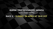 Lamborghini Super Trofeo Europe 2016, Monza - Live streaming Race 2