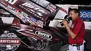 2016 World of Outlaws Craftsman Sprint Car Series Victory Lane from Opening Night at Devil's Bowl