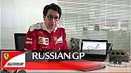 The Russian GP with Mattia Binotto - Scuderia Ferrari 2016
