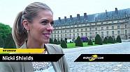 Interview de Nicki Shields, présentatrice de Supercharged pour CNN International