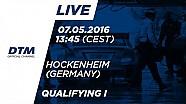 1 этап DTM 2016. Хоккенхайм, квалификация 1 гонки