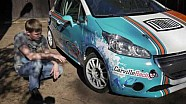 Подготовка гоночного автомобиля Peugeot 208 к первому этапу РСКГ