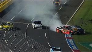 All-Star Race wreck