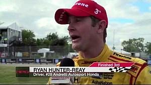 HPD Trackside -- IndyCar Detroit GP Race 2 Report