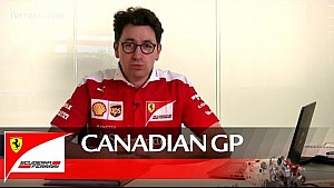 Tha Canadian GP with Mattia Binotto - Scuderia Ferrari 2016