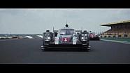 24 horas de le Mans - el P1 de LM en la pista
