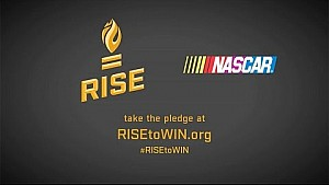 NASCAR Takes the RISE Pledge
