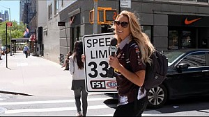 Leah Pritchett gets New Yorkers' take on 330 mph speed limit