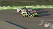 Kligerman cuts a tire, hits the wall in Iowa