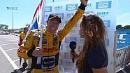 INTERVIEW - Tom Coronel wins OPENING RACE in Vila Real