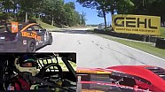 PWC 2016 Road America Onboard Highlights - Jade Buford #45 GTS