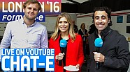 Chat-E Fan Show LIVE From London! - Formula E