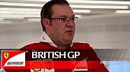 The British GP with David Greenwood - Scuderia Ferrari 2016