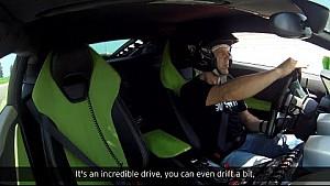 Lamborghini on track at the World Ducati Week 2016 with MotoGP riders