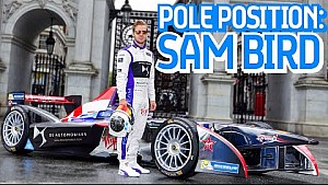 F.E Pole Position Award: Sam Bird