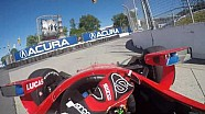 #INDYCAR In-Car Theater: Mikhail Aleshin At The Honda Indy Toronto
