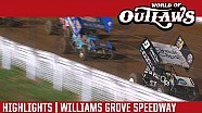 World of Outlaws Craftsman Sprint Cars Williams Grove Speedway July 22nd, 2016 | HIGHLIGHTS