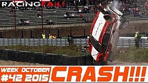 Racing and Rally Crash Compilation Week 42 October 2015