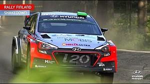 Rally Finland Shakedown - Hyundai Motorsport 2016