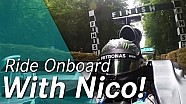 Onboard F1 Hill Climb with Nico Rosberg - Goodwood 2016