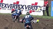 Best bits of EMX150 race one in Switzerland