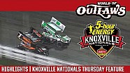 World of Outlaws Craftsman Sprint Cars Knoxville Nationals August 11th, 2016 | HIGHLIGHTS