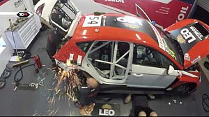 Nash massively crashed and team repaired