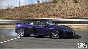 Day of Dreams - F1 Ride on Track and 675LT Spider Burnouts!
