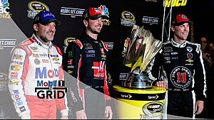 Three-Wide – Tony Stewart On NASCAR's 2016 Chase   Mobil 1 The Grid