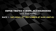 Lamborghini Super Trofeo Europe 2016, Nurburgring - Live streaming Race 1