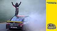 Truex uses great final restart to win at Chicagoland